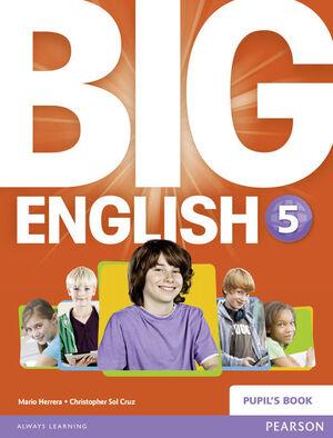 BIG ENGLISH 5 PUPILS BOOK STAND ALONE