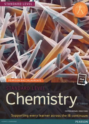 PEARSON BACCALAUREATE CHEMISTRY STANDARD LEVEL