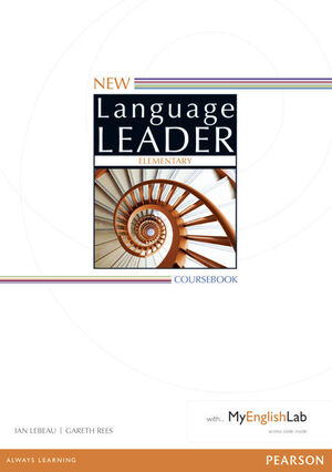 NEW LANGUAGE LEADER ELEMENTARY COURSEBOOK WITH MYENGLISHLAB PACK