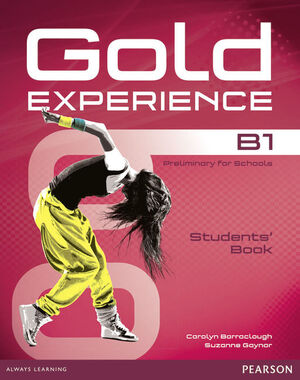 GOLD EXPERIENCE B1 STUDENTS' BOOK AND DVD-ROM PACK