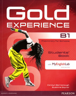 GOLD EXPERIENCE B1 STUDENTS' BOOK WITH DVD-ROM/MYLAB PACK
