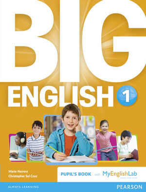 BIG ENGLISH 1 PUPIL'S BOOK AND MYLAB PACK