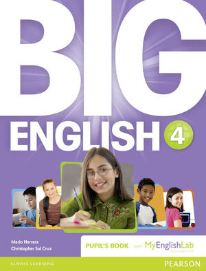 BIG ENGLISH 4 PUPIL'S BOOK AND MYLAB PACK