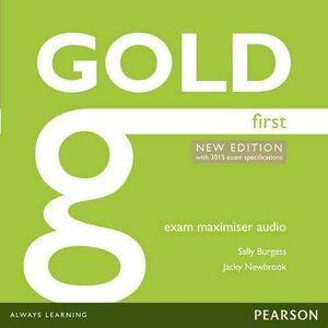 GOLD FIRST NE 2014 MAXIMISER AUDIO CDS (WITH 2015 EXAM SPECIFICATIONS)