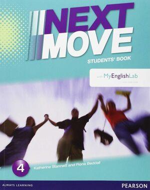 NEXT MOVE SPAIN 4 STUDENT BOOK & MYENGLISHLAB PACK