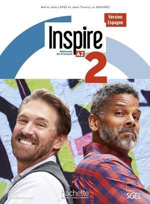 INSPIRE 2 A2 VERSION ESPAGNE ALUMNO