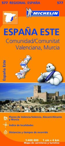 MAPA 577 COMUNIDAD VALENCIANA MURCIA