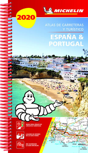 ESPAÑA & PORTUGAL 2020 (ATLAS DE CARRETERAS Y TURISTICO )