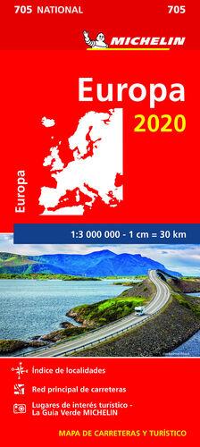 MAPA EUROPA 2020