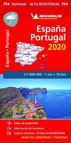 MAPA ESPAÑA & PORTUGAL 2020 ALTA RESIST