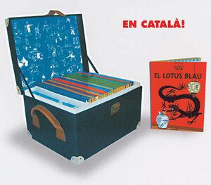 LES AVENTURES DE TINTIN ED. EL CENTENARI CAT.