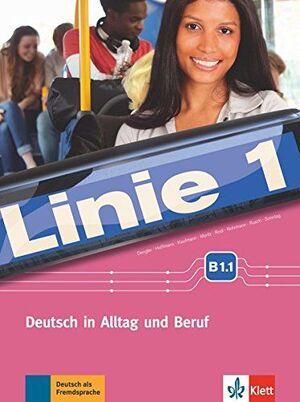 LINIE 1 B1.1, LIBRO DEL ALUMNO Y LIBRO DE EJERCICIOS + DVD-ROM