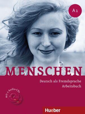 MENSCHEN A1 ARBEITSBUCH+CD-AUDIO (EJERCICIOS)