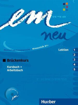 EM NEU BRÜCKENKURS 2008 LEKTION 1-5 KURSBUSCH+ARBEITSBUCH MIT CD