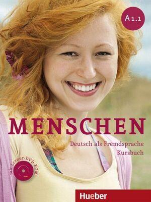 MENSCHEN A1.1 KURSBUCH+DVDR+XXL (LIBRO DEL ALUMNO+GUÍA)