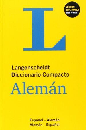 DICCIONARIO COMPACTO ALEMAN