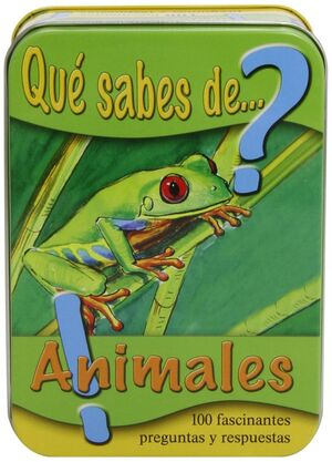 ¿QUÉ SABES DE ANIMALES?