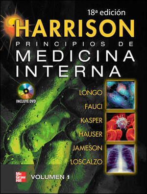 HARRISON PRINCIPIOS DE MEDICINA INTERNA 18ª ED.+DVD