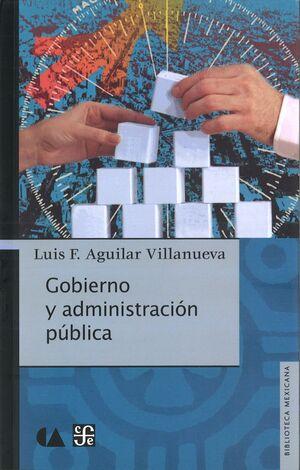 GOBIERNO Y ADMINISTRACIÓN PÚBLICA