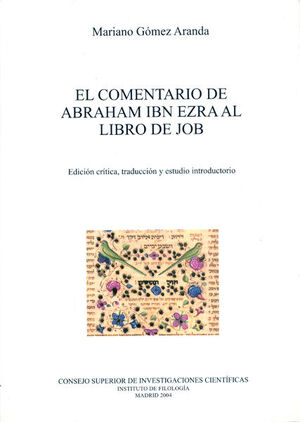 EL COMENTARIO DE ABRAHAM IBN EZRA AL LIBRO DE JACOB