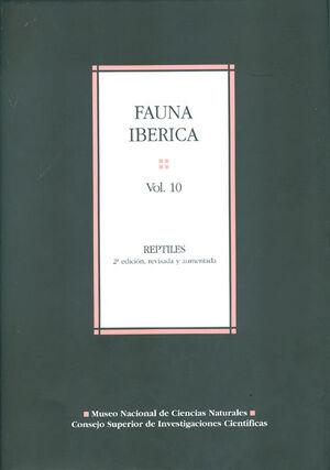 FAUNA IBÉRICA. VOL. 10, REPTILES