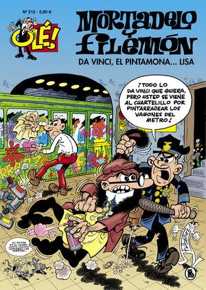 DA VINCI, EL PINTAMONA... LISA (OLÉ! MORTADELO 212)