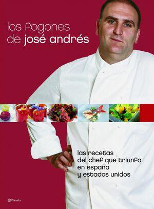 LOS FOGONES DE JOSÉ ANDRÉS (ED. TAPA DURA CON SOBRECUBIERTA)