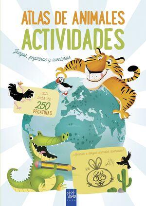 ATLAS DE ANIMALES. ACTIVIDADES (YOYO)