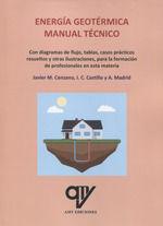 ENERGÍA GEOTÉRMICA. MANUAL TÉCNICO