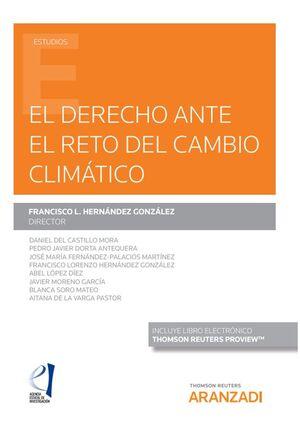 DERECHO ANTE EL RETO DEL CAMBIO CLIMÁTICO, EL