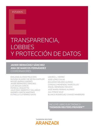 TRANSPARENCIA, LOBBIES Y PROTECCIÓN DE DATOS (PAPEL+E-BOOK)