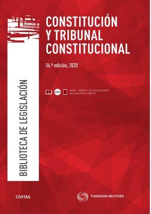 CONSTITUCIÓN Y TRIBUNAL CONSTITUCIONAL (PAPEL + E-BOOK)