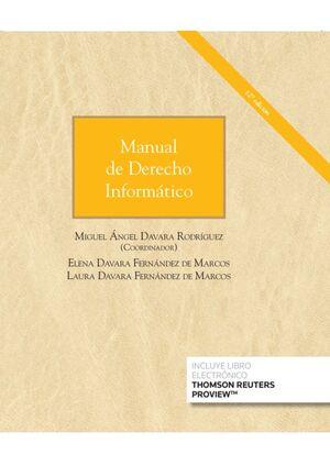 MANUAL DE DERECHO INFORMÁTICO (DÚO PAPEL+EBOOK)