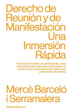 DERECHO DE REUNIÓN Y DE MANIFESTACIÓN