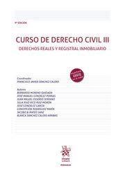 CURSO DE DERECHO CIVIL III. 9ª ED. 2020