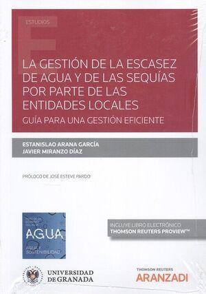 GESTIÓN DE LA ESCASEZ DE AGUA Y DE LAS SEQUÍAS POR PARTE DE LAS ENTIDADES LOCALE