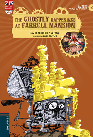 THE GHOSTLY HAPPENINGS AT FARRELL MANSION + CD