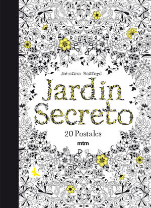 JARDÍN SECRETO 20 POSTALES