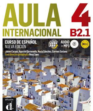 AULA INTERNACIONAL NUEVA EDICIÓN 4 LIBRO DEL ALUMNO + CD