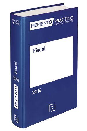 MEMENTO PRÁCTICO FISCAL 2016
