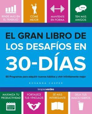 EL GRAN LIBRO DE LOS DESAFÍOS EN 30 DÍAS