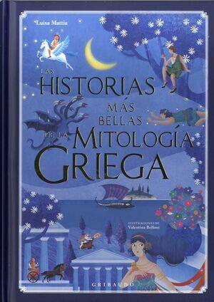 LAS HISTORIAS MÁS BELLAS DE LA MITOLOGA GRIEGA