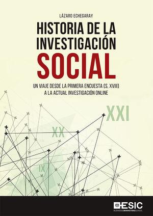 HISTORIA DE LA INVESTIGACION SOCIAL