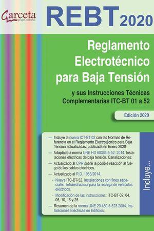 REGLAMENTO ELECTROTECNICO PARA BAJA TENSION -2020