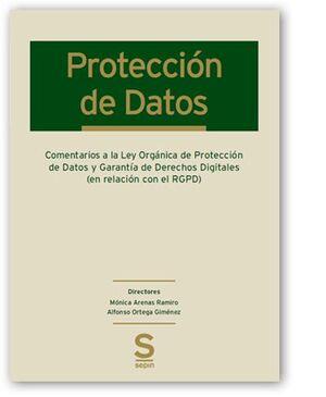 COMENTARIOS A LA LEY ORGÁNICA DE PROTECCIÓN DE DATOS Y GARANTÍA DE DERECHOS DIGI