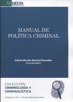 MANUAL DE POLÍTICA CRIMINAL