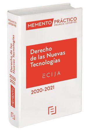MEMENTO DERECHO DE LAS NUEVAS TECNOLOGÍAS 2020-2021