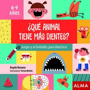 ¿QUÉ ANIMAL TIENE MÁS DIENTES?