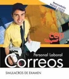 CORREOS PERSONAL LABORAL SIMULACROS