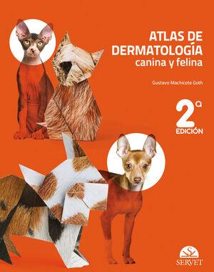 ATLAS DE DERMATOLOGÍA CANINA Y FELINA (2.ª EDICIÓN)